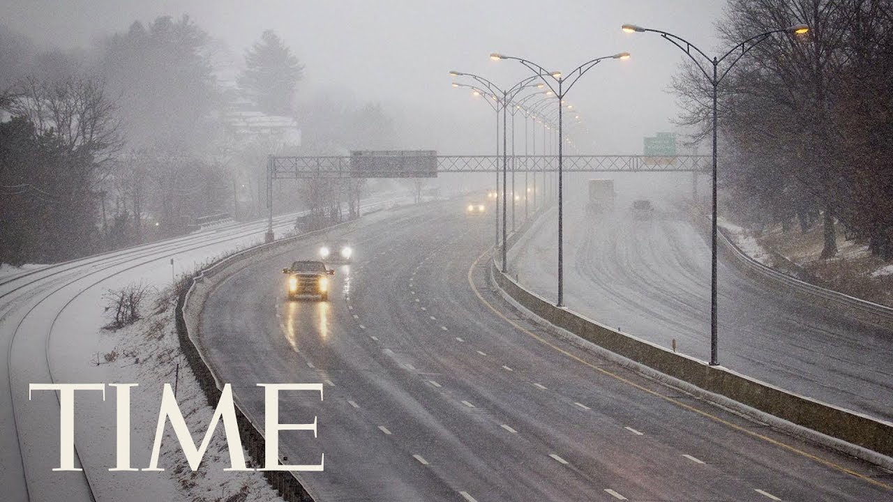 A Third Nor'easter Slams A Storm-Battered Northeast Causing More Power Outages, Flight Delays