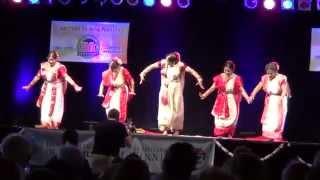 """Elo Je Maa""-Bangla Durga Puja Dance- by Parnali Dhar Chowdhury, Folklorama 2015 (Last Day)"