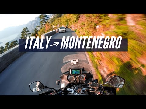 Moto Trip From Italy to Montenegro - ON/OFF - Summer 2018