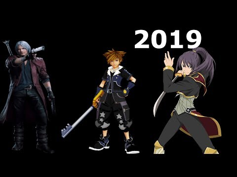 Devil May Cry 5,Kingdom Hearts 3,Tales of Vesperia 2019 HYPEEE! The Time Has Come ;)