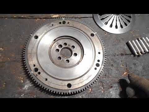 Мотор ВАЗ1113 ОКА в мотоцикл урал, днепр. Часть 1.3 Маховик .
