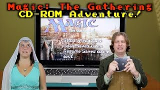 The Magic: The Gathering CD-ROM Adventure! Now with Commander 2015 Spoiler Card!
