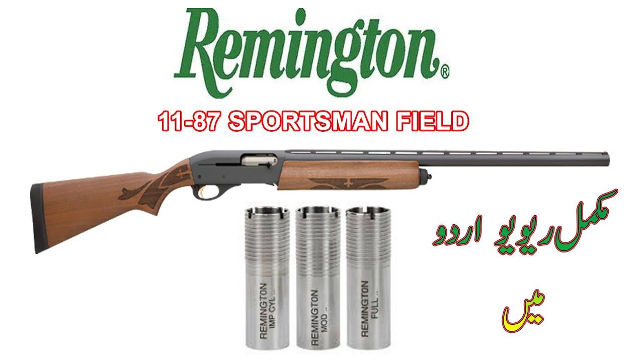 Download REMINGTON 11-87 SPORTSMAN FIELD SEMI-AUTOMATIC SHOTGUN MADE IN USA,