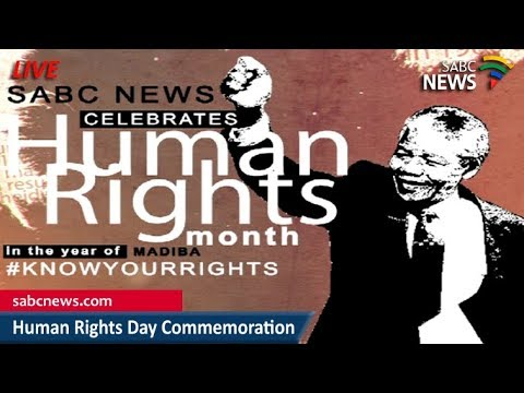 Human Rights Day commemoration, 21 March 2018