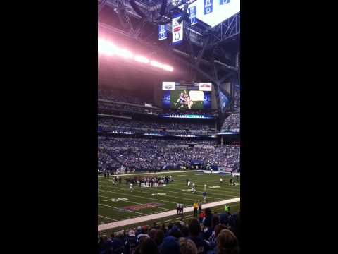 Colts vs. Jaguars game-Edge into Ring of Honor (September 23rd, 2012)