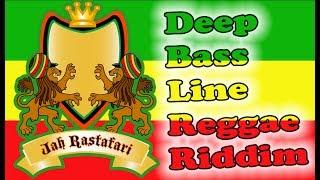 Deep Bass Line Reggae Riddim.