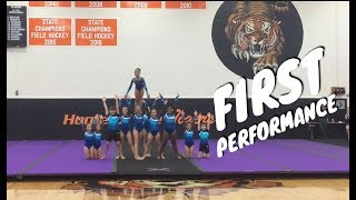 Atlantic Coast Acro: Our First Ever Performance!