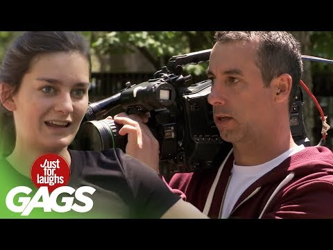 EPIC FAIL: Cameraman Loses Everything - Just For Laughs Gags