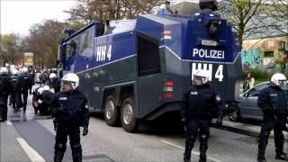 St.Pauli-Fans attackieren Polizei
