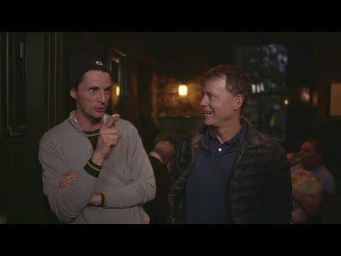 Dunhill Links: Matthew Goode and Greg Kinnear