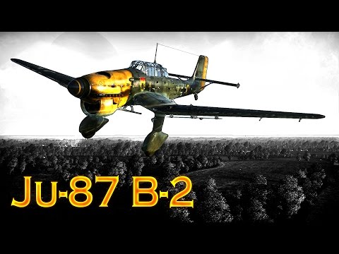 "War Thunder: Tier-1, German Ju-87 ""Stuka"",  Ground Attack Ai"
