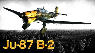 "War Thunder: Tier-1, German Ju-87 ""Stuka"",  Ground Attack Aircraft"