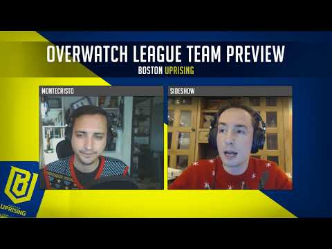 Boston Uprising - Overwatch League Team Preview