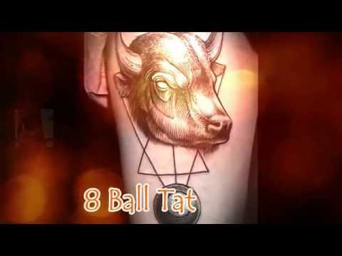 8 Ball Tattoos Collection for Men