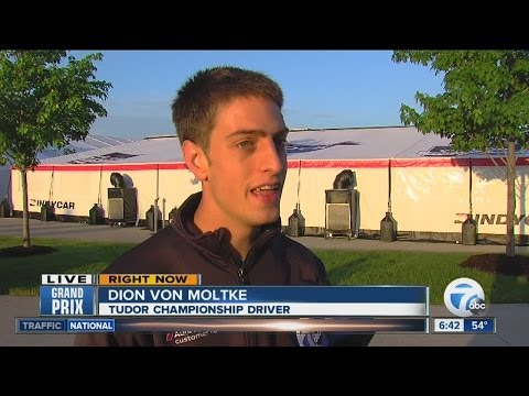 INTERVIEW: Tudor Championship driver Dion Von Moltke gears up for the Grand Prix