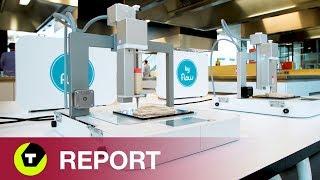 Van Plastic Fantastic Naar Haute Cuisine - Een Blik In De Keuken Van 3d-voedselprinting