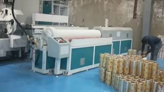PVC cling film production line