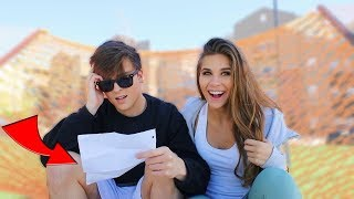 BOYFRIEND REACTS TO A LOVE SONG HE WROTE ME 5 YEARS AGO *Cringe*