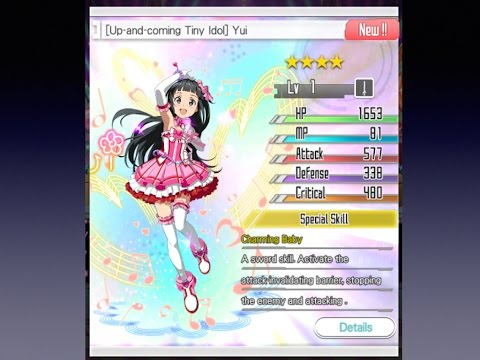 SAO:MD  Scouting Idol Yui + Items for PopStar Online