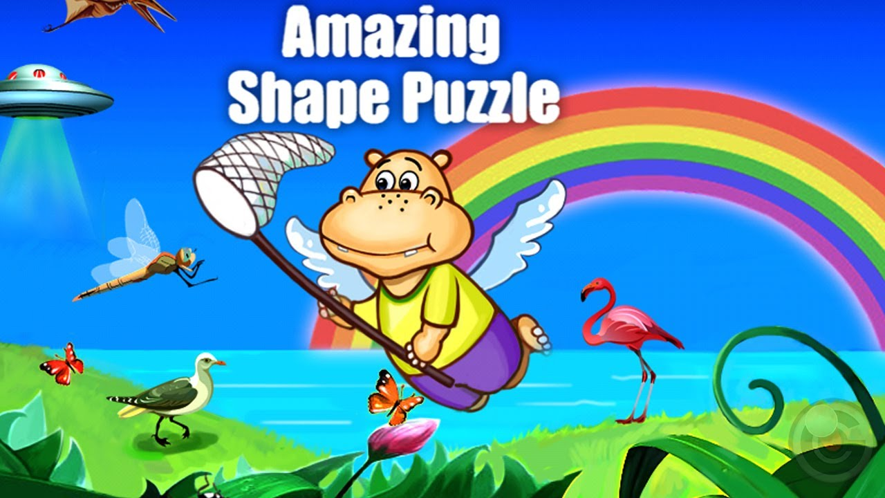 Amazing Shape Puzzle(Deluxe)-Kids Favorite Word Learning ...