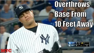 MLB Pitchers Forgetting How To Throw a Baseball Compilation