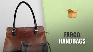 Our Favorites Fargo Handbags [2018]: Fargo Couthy PU Leather Women's & Girl's Shoulder Handbag &