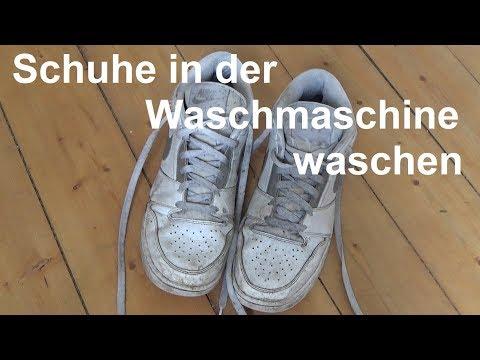Turnschuhe in der Waschmaschine waschen/reinigen | Sneakertrends