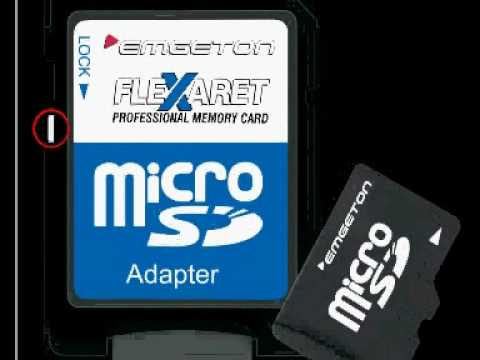remove write protection from micro sd card Need help remove write protection from sandisk sd card remove write protection on an sd card by do you have access to linux or os x to manage the micro sd card.