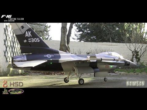 HSD F16 Powered by KingTech K60 / Turbine Test / Maiden Soon ! SONY AX-33 [FR]