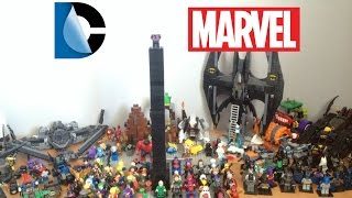 LEGO SUPERHEROES COLLECTION!! DC AND MARVEL