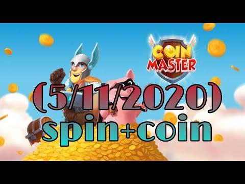 (Coin Master)แจกสปินฟรี เหรียญฟรี ลิ้งค์ 5/11/2020