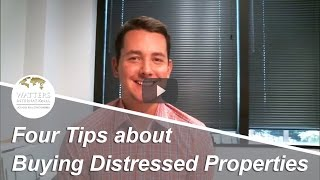 Greater Austin Real Estate Agent: Four tips about buying distressed properties
