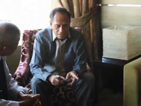 SPDA Chairman Saeed Daof meets with the Foreign Minister of East Timor
