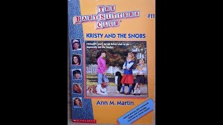 Baby-Sitters Club #11: Kristy and the Snobs - Book Review
