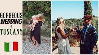 VLOG #4| THE MOST EPIC WEDDING IN ITALY | Elanna Pecherle
