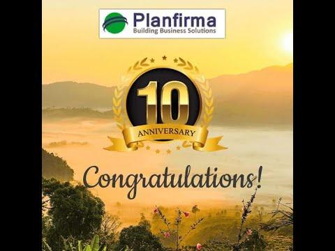 Planfirma Celebrating 10 Years
