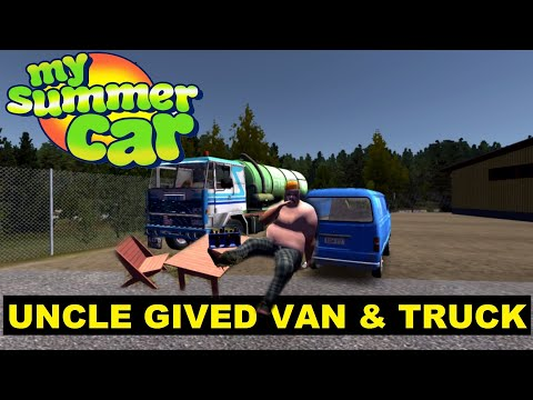 My Summer Car UNCLE GIVED VAN AND TRUCK
