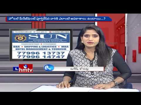 Discussion On Hotel Management Courses | Sun International Business College | Career Times | HMTV