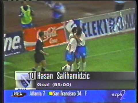 1997 (September 6) Croatia 3-Bosnia 2 (World Cup Qualifier).mpg