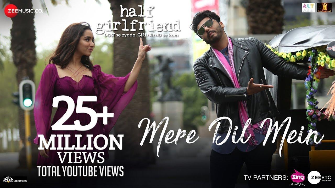 Download Mere Dil Mein - Half Girlfriend | Arjun K & Shraddha K | Veronica M & Yash N | Rishi Rich