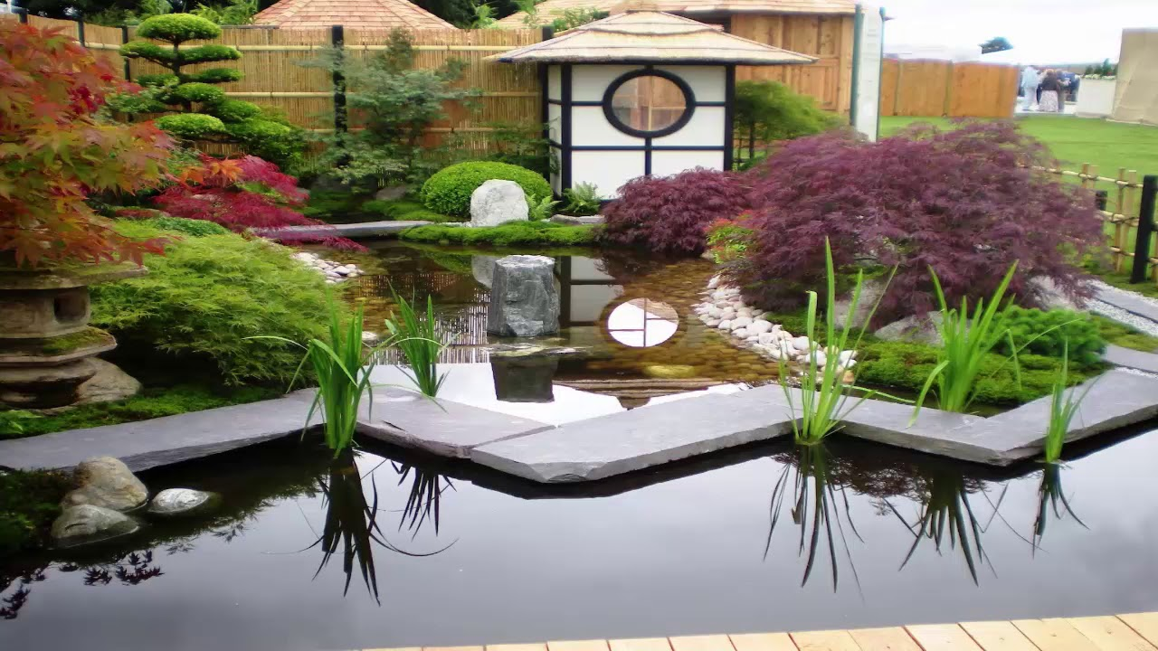 Simple Japanese Garden Design Part 23