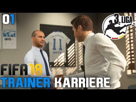 VERSTÄRKUNG FÜR DIE 3. LIGA - Fifa 18 Trainer Karriere #1