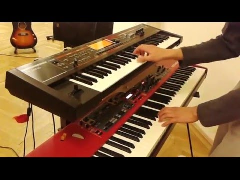 Here Comes The Sun - keyboard cover