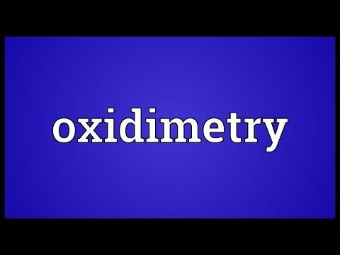 Header of oxidimetry