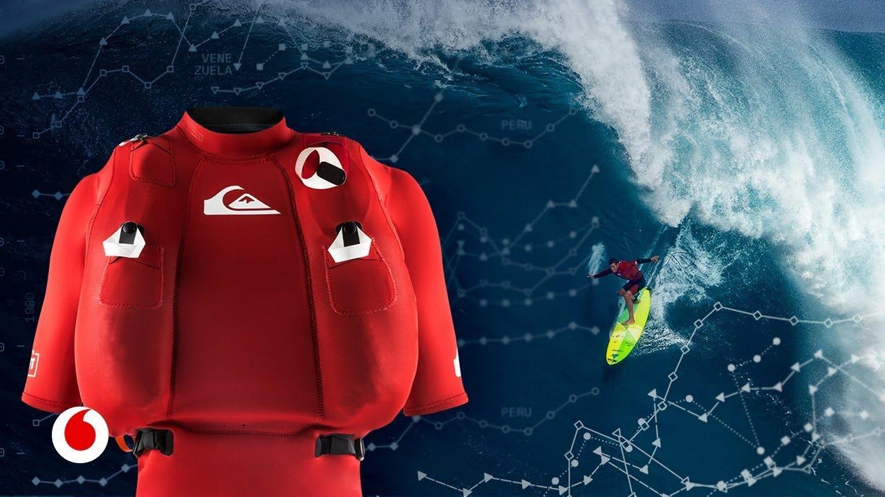 La tecnología que permite surfear las mayores olas del planeta