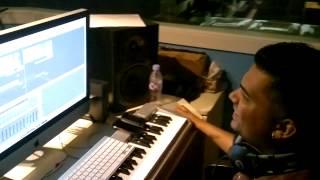 Tamil Rap - MC SAI-6-Steve Cliff working on Simmasanam album song Pakathuveetu Kaari (GirlNextDoor)