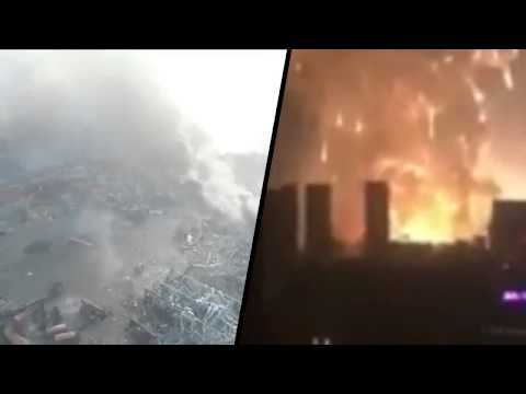 Live Tianjin China Explosion