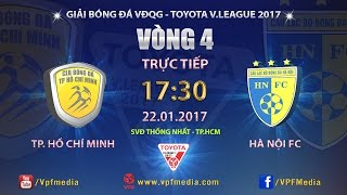 full  tp ho chi minh vs ha noi fc 1-3  vong 4 v league 2017