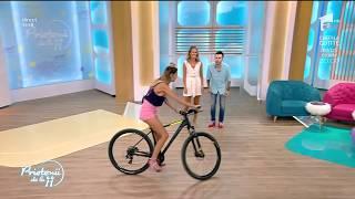 """Florin Ristei și Ramona, ture cu bicicleta prin platoul """"Prietenii de la 11"""""""