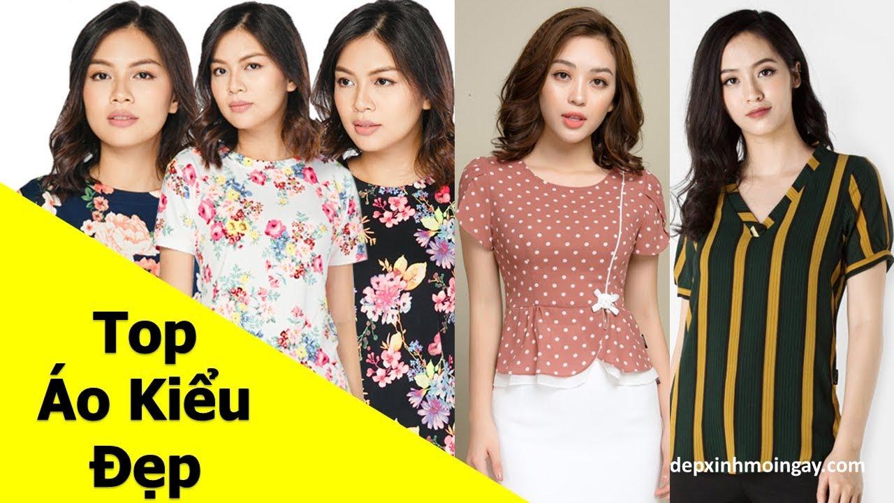 Top 60 áo kiểu nữ đẹp thời trang Y12